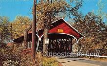 cou101174 - Covered Bridge Vintage Postcard