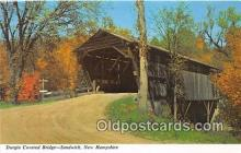 cou101175 - Covered Bridge Vintage Postcard
