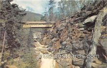 cou101179 - Covered Bridge Vintage Postcard