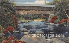 cou101184 - Covered Bridge Vintage Postcard