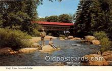 cou101189 - Covered Bridge Vintage Postcard