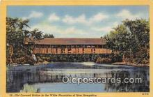 cou101196 - Covered Bridge Vintage Postcard