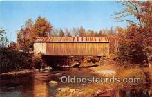 cou101208 - Covered Bridge Vintage Postcard