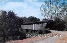 cou101212 - Covered Bridge Vintage Postcard