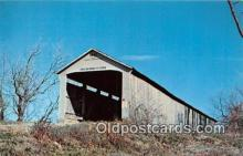 cou101218 - Covered Bridge Vintage Postcard