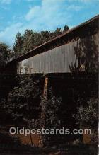cou101223 - Covered Bridge Vintage Postcard
