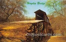 cou101225 - Covered Bridge Vintage Postcard