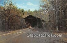 cou101229 - Covered Bridge Vintage Postcard