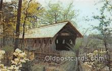 cou101231 - Covered Bridge Vintage Postcard