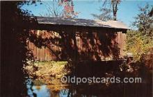 cou101234 - Covered Bridge Vintage Postcard