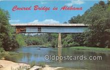 cou101235 - Covered Bridge Vintage Postcard
