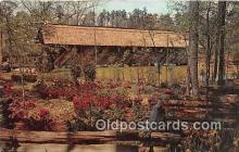 cou101238 - Covered Bridge Vintage Postcard