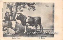 cow000007 - Paulus Potter De Stier Postcard Post Card