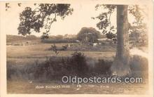 cow000086 - Real Photo - Bucklers Hard EWM Postcard Post Card