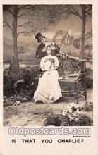 cps001160 - Couples Romance Vintage Postcard