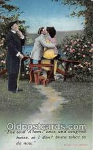 cps001161 - Couples Romance Vintage Postcard
