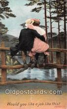 cps001162 - Couples Romance Vintage Postcard