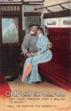 cps001165 - Couples Romance Vintage Postcard