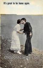cps001174 - Couples Romance Vintage Postcard