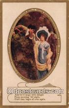 cps001178 - Couples Romance Vintage Postcard