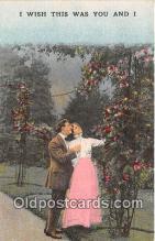 cps001183 - Couples Romance Vintage Postcard