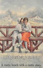 cps001184 - Couples Romance Vintage Postcard