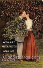 cps001196 - Couples Romance Vintage Postcard