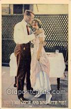 cps001198 - Couples Romance Vintage Postcard