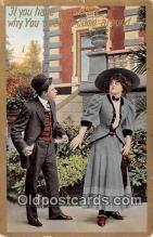 cps001199 - Couples Romance Vintage Postcard