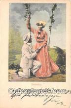 cps001202 - Couples Romance Vintage Postcard