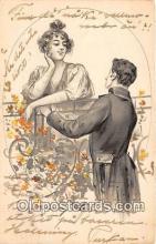 cps001204 - Couples Romance Vintage Postcard