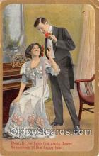 cps001211 - Couples Romance Vintage Postcard