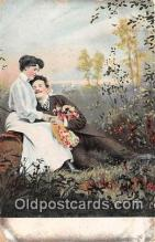 cps001212 - Couples Romance Vintage Postcard