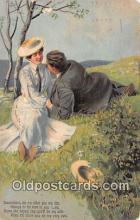 cps001213 - Couples Romance Vintage Postcard