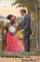 cps001214 - Couples Romance Vintage Postcard