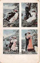 cps001215 - Couples Romance Vintage Postcard