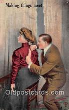 cps001216 - Couples Romance Vintage Postcard