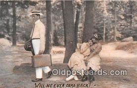 cps001225 - Couples Romance Vintage Postcard