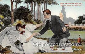 cps001236 - Couples Romance Vintage Postcard