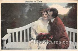 cps001250 - Couples Romance Vintage Postcard