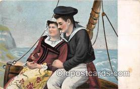 cps001253 - Couples Romance Vintage Postcard