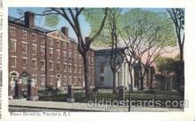 Brown University, Providence, R.I, USA