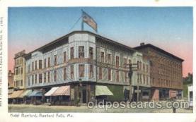 Hotel Rumford, Rumford Falls, Me. Maine, USA