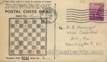 crs001039 - Postal chess game Cross Word, Crossword Puzzle Postcard Post Card