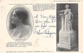 ctg000465 - Frances E. Williard Womans Rights to Vote Suffragette Vintage Postcard