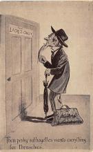 ctg000467 - Them Peshy Suffragettes Womans Rights to Vote Suffragette Vintage Postcard