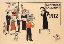 ctg000469 - Reproduction - Vote for Woman Womans Rights to Vote Suffragette Vintage Postcard