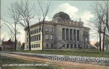 cth001001 - Lee County Court House, Dixon, ILL, Illinois, USA Court House, Court Houses Postcard Post Card