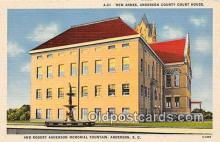 cth001085 - Court House Vintage Postcard