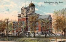 cth001110 - Court House Vintage Postcard